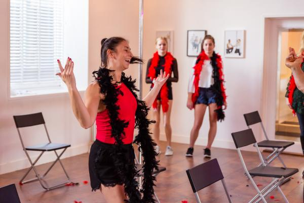 Burlesque Workshop in Delft